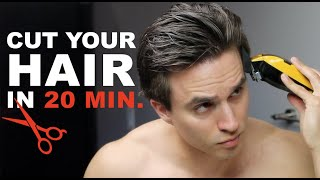 QUICK Self-Haircut For Męn + [HOW TO EASILY CUT YOUR OWN HAIR]