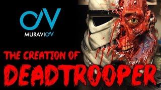 Как сделать шлема штурмовика, зомби Star Wars! The creation of Deadtrooper!