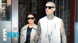 Kourtney Kardashian & Travis Barker Twinning in NYC | E! News