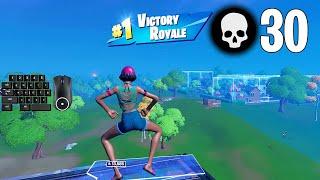 31 Elimination Trio Arena Win ft. SENSEI & GaFN | Full Gameplay (Fortnite PC Keyboard)