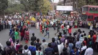 icc world cup t20 2014 flash mob dept of geology university of dhaka
