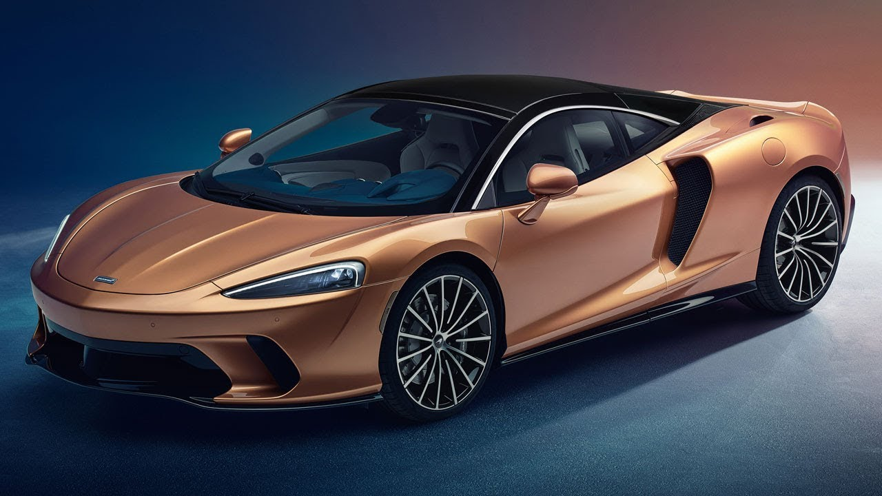 The NEW McLaren GT | Top Gear