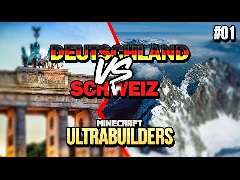 Deutschland 🆚 Schweiz | ULTRA BUILDERS #01 | Clym 🆚 Zinus