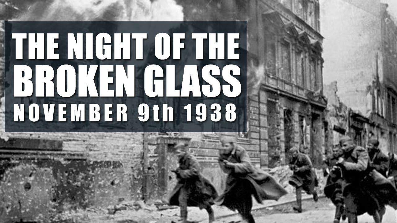 The Night of Broken Glass World War 2 - Kristallnacht November 9 ...