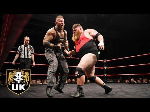 """""""Bomber"""" Dave Mastiff vs. Tyson T-Bone: NXT UK, Nov. 21, 2018"""