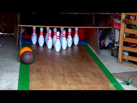 Homemade Bowling Alley #4 (France) - 18/03/2015 | Bowling in the garage