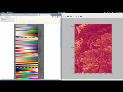 Adventures with GIS: an introduction to IPython and the joy of play