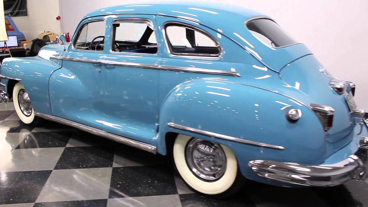 2794 CHA 1947 Chrysler Windsor - YouTube