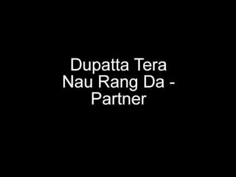Dupatta Tera Nau Rang Da - Partner