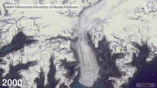 Watch Alaska's Columbia glacier retreat over four decades | Science News