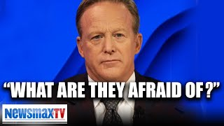 Sean Spicer responds to Democrats who want to cancel Newsmax