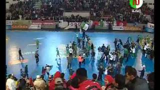 [Reportage]Algerie Egypte canal football club Egypt VS Algeria HandBall CAN 2016 مصر VS الجزائر لكرة اليد CAN 2016 2 نصف الوقت.