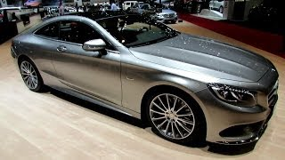 2015 Mercedes-Benz S-Class Coupe S500 4Matic - Exterior,Interior Walkaround - 2014 Geneva Motor Show