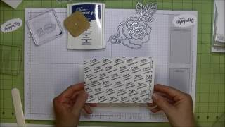 Two Minute Quick Tip: How to adhere intricate die cuts to cards.