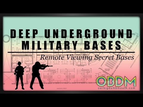 Deep Underground Military Bases - OBDM Podcast