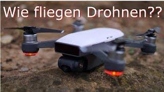 Warum und Wie fliegen Drohnen? | Technik Erklärt | Cubi Reviews