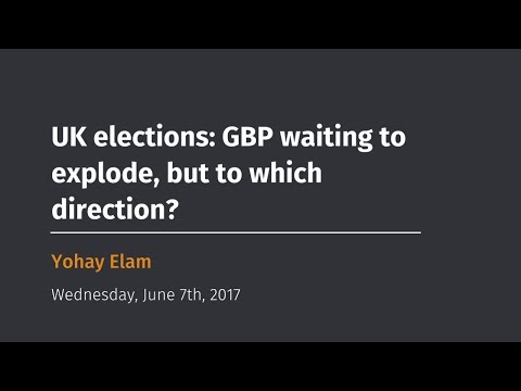 UK elections: GBP waiting to explode, but to which direction?
