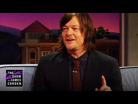 The Walking Dead Pranks & Exploding Crossbow Arrows w/ Norman Reedus