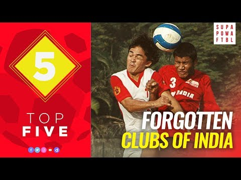 Top 5 | Indian clubs you should remember!