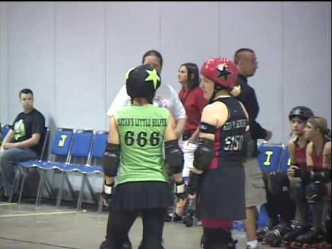 Rubber City Rollergirls vs Glass City Rollers