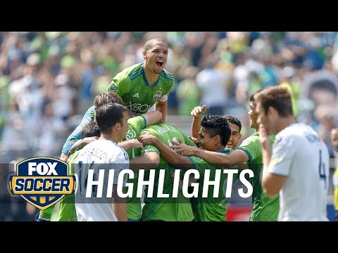 Seattle Sounders hang five goals on slumping LA Galaxy | 2018 MLS HIGHLIGHTS