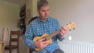 Uke DEMO: Freshman electro-acoustic concert ukulele