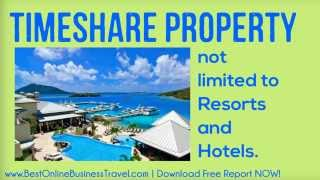 Online Business Travel and Time Sharing