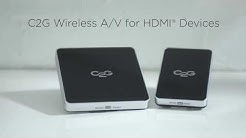 Legrand C2G Wireless A/V for HDMI - Anixter Featured Technology