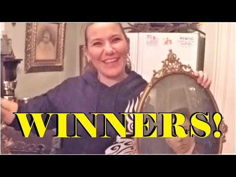 WINNERS ANNOUNCED!! | Karen's Project VLOG #2 - Framing Antique Prints - Bubble Glass