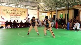 Martial Arts Fighting Competition   006 Ibrohim Sumbawa Vs Apin Karawang