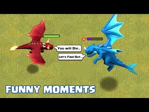 COC Funny Moments Montage   Glitches, Fails, Wins, And Troll Compilation #57