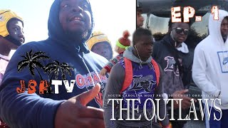 "Balling At The Beach PT1 🏈🏖- EP 1 ""The Outlaws: South Carolina Most Prestigious 7V7 Organization"""