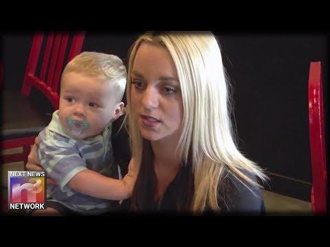 Waitress Pounds on Choking Toddler's Back Until Ambulance Arrives, Saves His Life