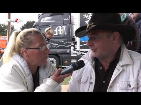 Interview mit Joe Harper beim Truckerfestival in Vechta