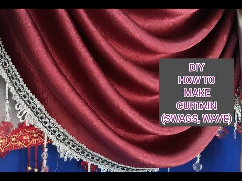 how to make wave model curtains | HOW TO MAKE