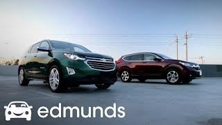 2018 Chevrolet Equinox vs. 2017 Honda CR-V Comparison Review | Edmunds