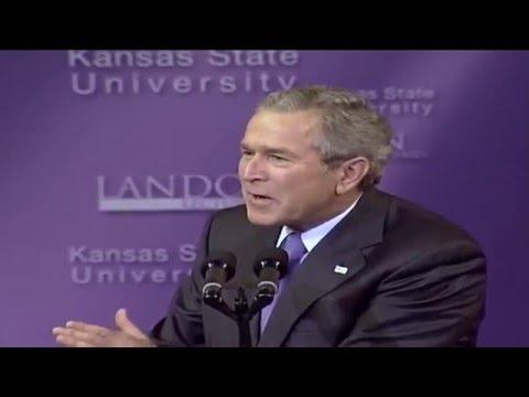 Landon Lecture | George W. Bush