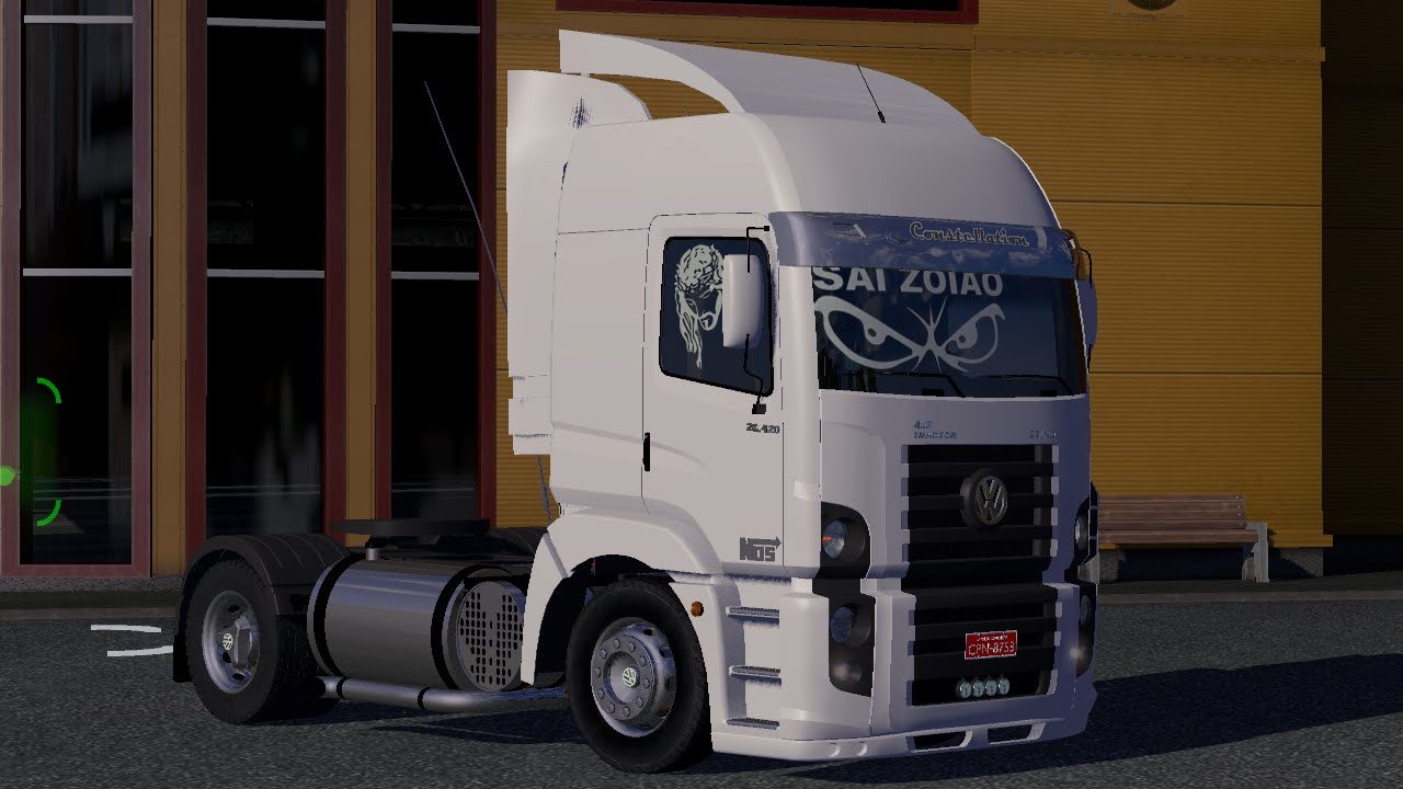 vw constellation para euro truck 2
