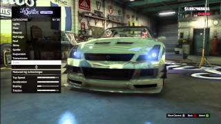 GTA 5: FULLY CUSTOMIZED Nissan GT-R (Annis Elegy RH8) Los Santos Customs + Gameplay