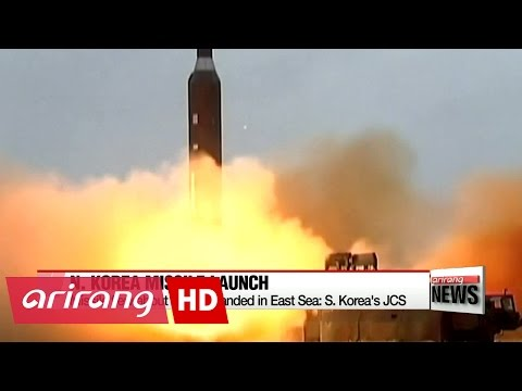N. Korea launches ballistic missile, four days after South Korean President's inauguration