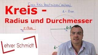 Download Video Kreis - Radius und Durchmesser | Geometrie | Mathematik MP3 3GP MP4
