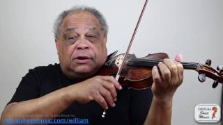Violin Lesson - Exploring Touch on the Violin