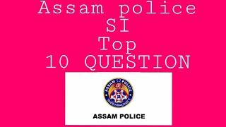 Assam police si (ub) gk