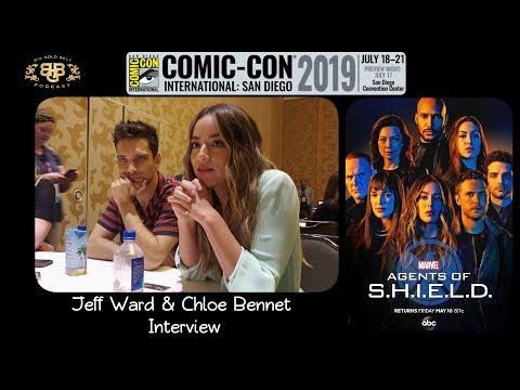 SDCC 2019 | Marvel's Agents of S.H.I.E.L.D. Jeff Ward & Chloe Bennet Interview
