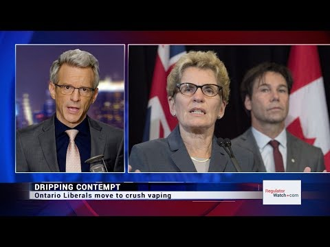 DRIPPING CONTEMPT | ONTARIO LIBERALS MOVE TO CRUSH VAPING