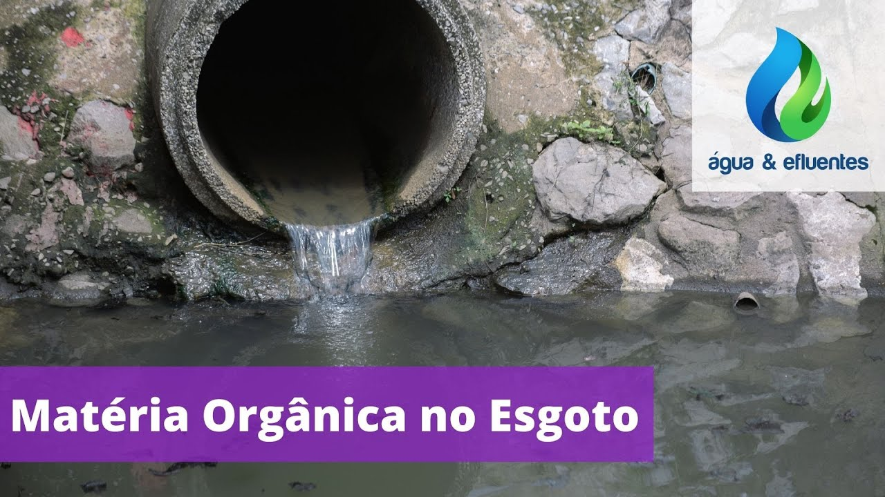 Matéria Orgânica no Esgoto