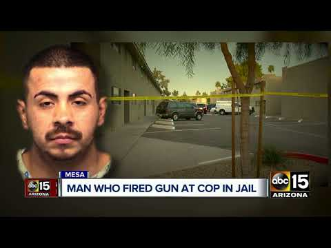 Man who fired at Mesa officers identified