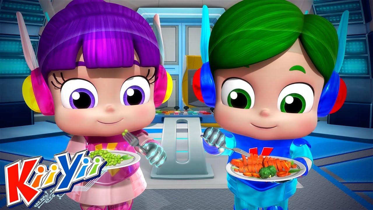Ешь свои овощи + Еще! | детские песни | KiiYii | мультфильмы для детей