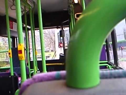 Awsome Allison! - First Manchester Dennis Dart SLF 40430 P524LND Part 1
