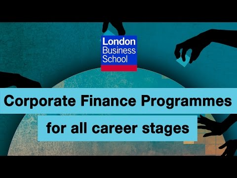 Corporate finance for professionals at any career stage | London Business School
